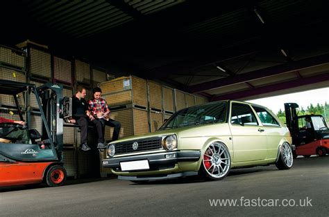 volkswagen golf modified kw automotive 39 s modified vw golf mk 2 fast car