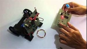 Rf Controlled Metal Detection Robotic Vehicle