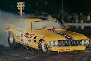 Hot Wheels Snake Funny Car Drag Racing