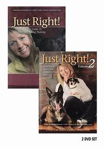 Just right remote collar dog training volumes 1 and 2 for Dog training dvd