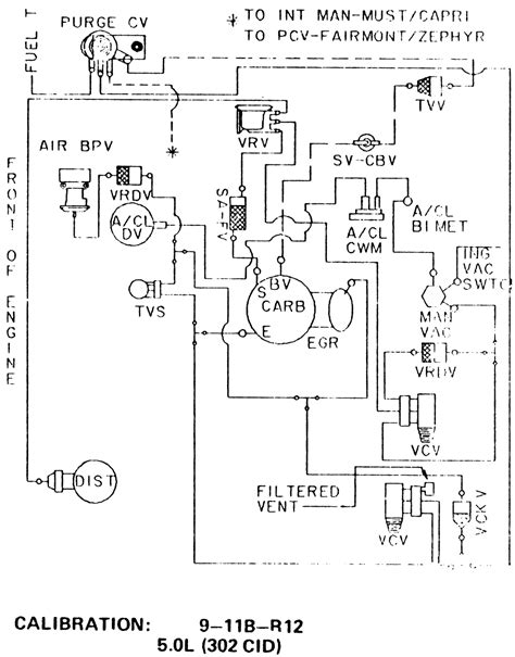 78 Ford Ranchero Wiring Diagram by 1978 Ford Ltd Vacuum Diagram