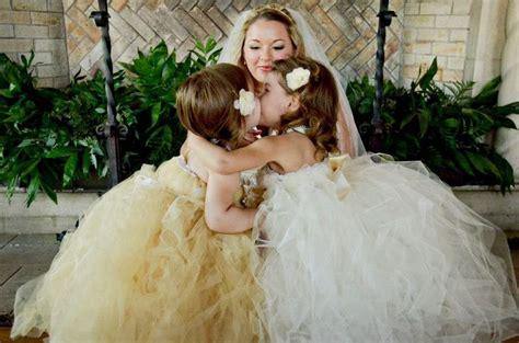 Wedding Dresses For Girls : Big Puffy Flower Girl Dresses (