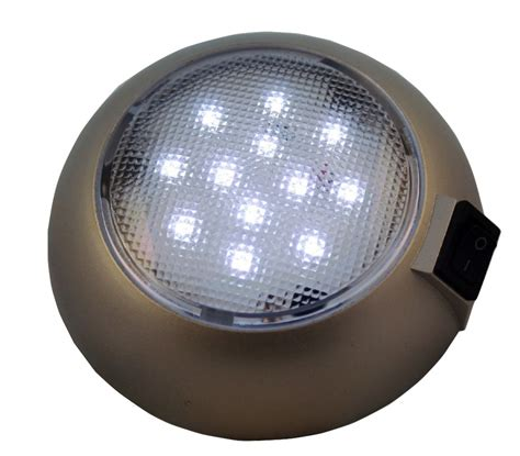 4 5 quot led battery powered dome light magnetic base