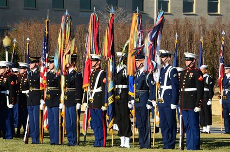 Military Tribute: Pure Red White And Blue At The ...