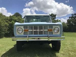 1970 Ford Bronco Pickup 4x4 Vintage Truck 4 Wheel Drive