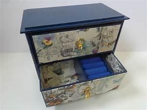Boite Archive Deco : ma petite commode boite bijoux les cr ations d co de marsouille ~ Teatrodelosmanantiales.com Idées de Décoration