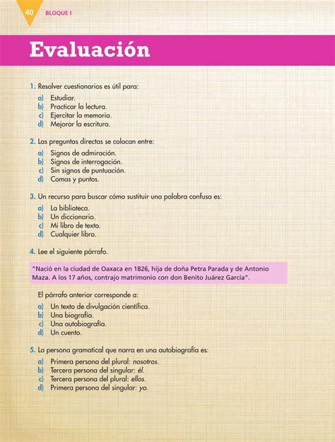 Check spelling or type a new query. Español Sexto grado 2016-2017 - Online - Libros de Texto ...