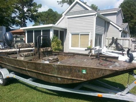 Aluminum Boats For Sale Eastern Nc by 2012 G3 1860cc Tunnel Flat Jon Boat For Sale In Eastern