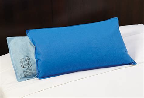 pillow that stays cold sleep supporting cooling pillow sharper image