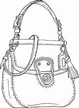 Purse Purses Drawing Clipart Wallet Getdrawings Cad Transparent Behance Bag Webstockreview sketch template