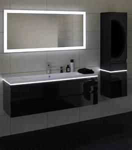 miroir lumineux leroy merlin maison design bahbecom With miroir lumineux design