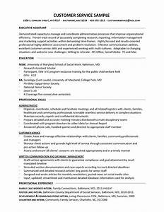 resume samples better written resumes With customer service sample