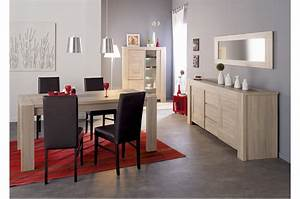 Ensemble Salle A Manger : ensemble salle manger design ch ne brut matheo cbc meubles ~ Melissatoandfro.com Idées de Décoration