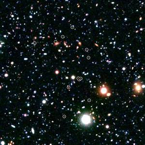 NASA - Galactic City at the Edge of the Universe