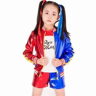 Quinn Harley Halloween Suicide Costumes Cosplay Jacket