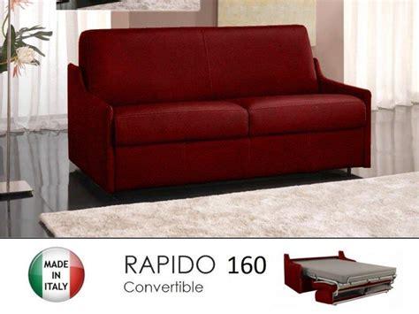 canapé 160 cm convertible canape lit 4 places convertible ouverture rapido 160
