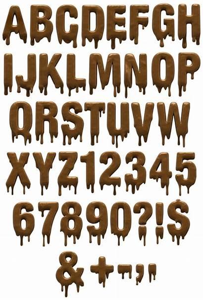 Font Fonts Choco Chocolate Alphabet Typography Handmadefont