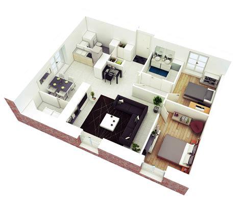 25 More 2 Bedroom 3d Floor Plans 25 more 2 bedroom 3d floor plans 2 bedroom house plans