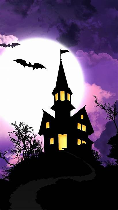 Scary Halloween Screensavers Wallpapers Iphone Haunted