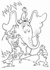 Fun Coloring Pages: Horton Dr Seuss Coloring Pages