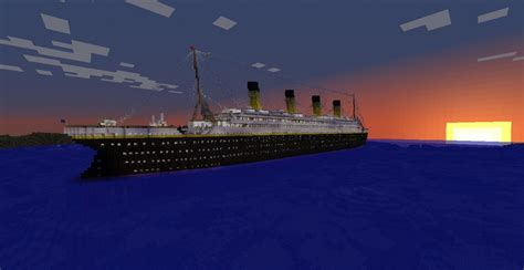 Minecraft Boat Titanic by Most Detailed 1 1 Scale Titanic By Deadkoalas Minecraft