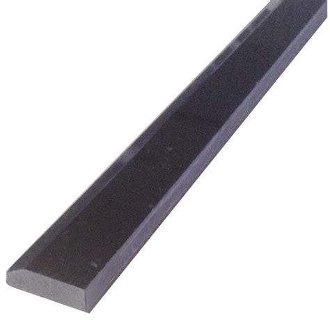 nero marquina honed black marble bullnose trim
