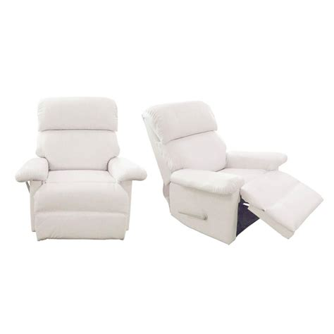 white leather sofa and chair white recliner white leather recliner chair amazing