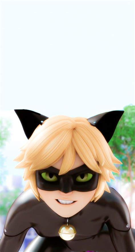 cat noir lockscreen wallpaper