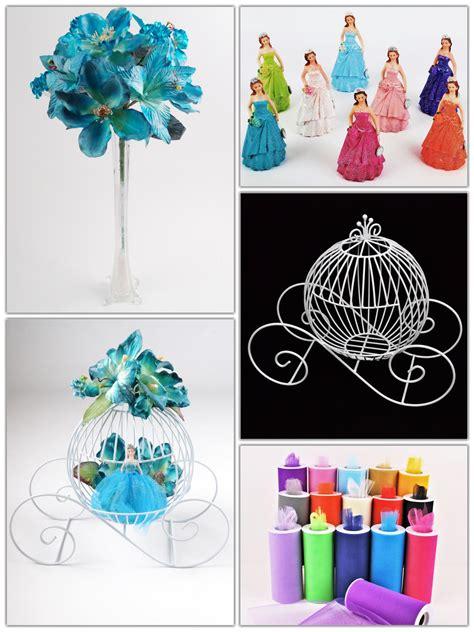 diy  figurine  wire carriage  flowers