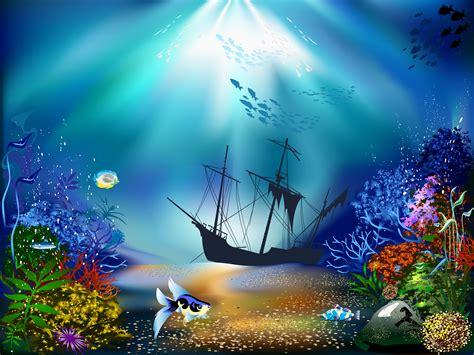 Underwater Fantasy Hd Wallpaper