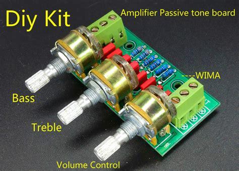 Amplifier Passive Tone Board Bass Treble Volume Control