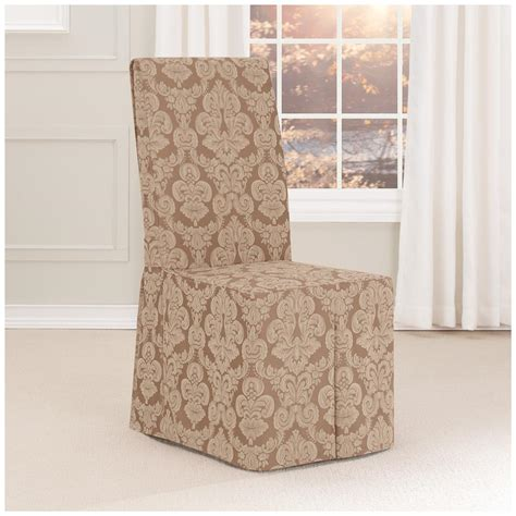 fit middleton long dining room chair slipcover