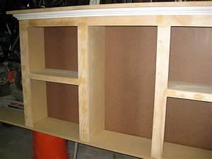 Build an inexpensive 2-piece Bookshelf Headboard
