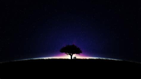 nuit etoilee fond decran hd