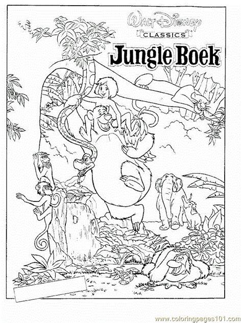 jungle book  coloring page  jungle book coloring