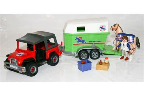 playmobil auto mit anhänger playmobil gel 228 ndewagen mit pferdeanh 228 nger 4189 neuwertig in ottobrunn spielzeug lego