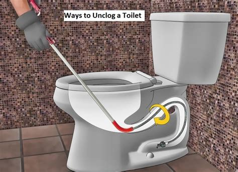 10 Ways To Unclog Toilet Without Dirt  African Rubiz
