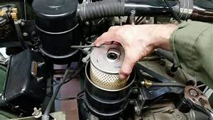 Ww2 Jeep Oil And Filter Change Service For Willys Mb