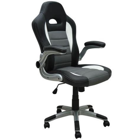 fauteuil chaise de bureau ergonomique gamer pc si 232 ge noir