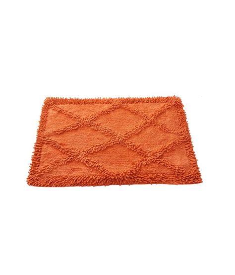 kaksh orange cotton export quality floor bath mat buy