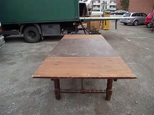 Alter Esstisch Holz : alter esstisch ausziebar bis auf 233 cm 01675 ~ Orissabook.com Haus und Dekorationen