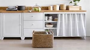 Rideau De Placard : rideau meuble cuisine cuisinez pour maigrir ~ Teatrodelosmanantiales.com Idées de Décoration