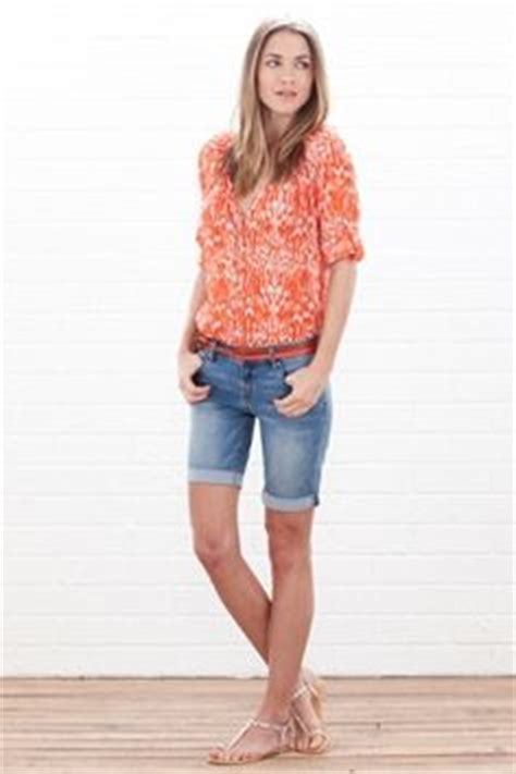 1000+ images about Summer outfits on Pinterest | Knee length shorts Bermuda shorts and Shorts