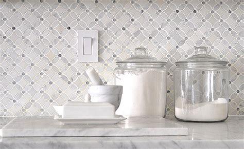 Carrara Marble Tile Backsplash by Marble Mosaic Tile Backsplash Backsplash