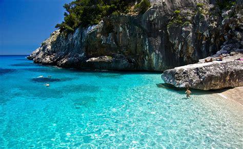Rock On The Beach On The Island Of Sardinia Italy