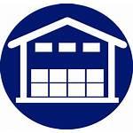 Warehouse Clipart Services Icon Warehousing Transparent Emblem