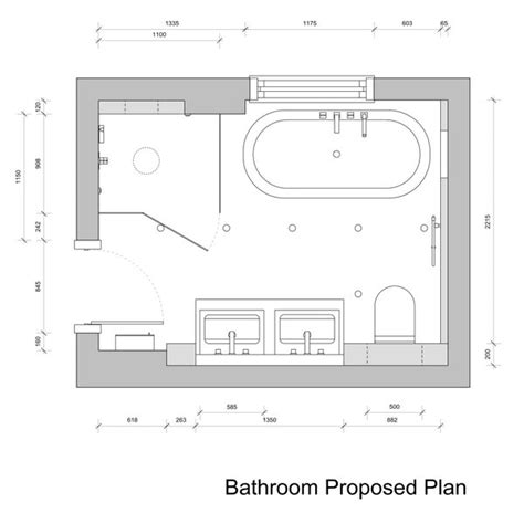 Design A Bathroom Layout by Bathroom Drawings 187 Kent Griffiths Design