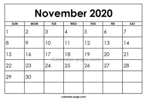 november printable calendar template blank calendar february