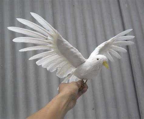 Buy 45x28cm Simulation Bird Feathers Dove