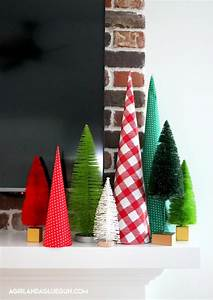 how to make a paper cone tree for cheap a